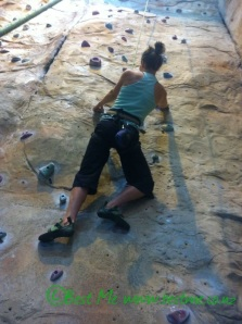 Climbing requires strength (pull, lunge and twist patterns), aerobic fitness, anaerobic fitness and some power
